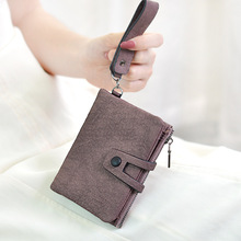 Women Wallets Small Fashion Leather Purse Ladies Card Bag Long Section Female Money Clip Wallet