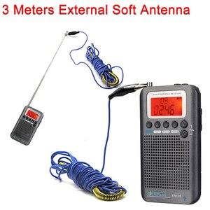 Image 5 - Retekess TR105 المحمولة الهواء الفرقة FM/AM/SW/CB/الهواء/VHF الرقمية ضبط راديو مع الموقت تشغيل/إيقاف وظيفة على مدار الساعة
