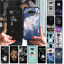 Phone Case Kpop Exo Lucky One Newly Arrived Black Cell Phone Case for Samsung S9 plus S6 edge plus S7 edge S8 plus S10 plus(China)