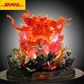 4000228832930 - Figura de acción de Naruto de 21 , figura de acción de miku Bust Eight Dun Armour Night kay, tamaño completo, retrato con luz LED GK, juguete de 53CM V437