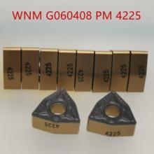 SANDV high quality lathe tool WNMG060408 PM4225 Carbide tool, internal turning NC R0.8 semi-finishing