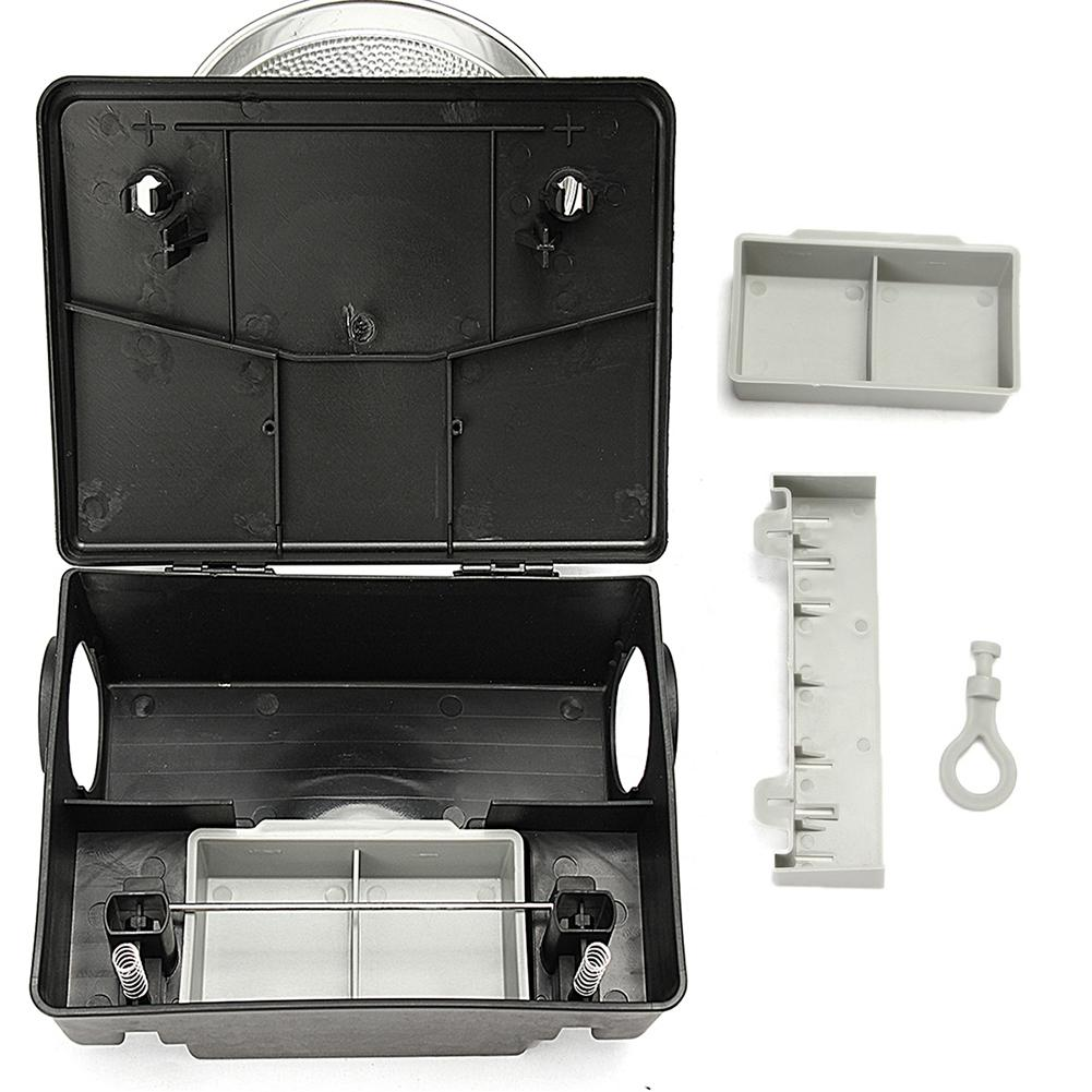 Wall Hanging Rat Box Bait Station With Lock Mousetrap Rodent Bait Block Station Box Mouse Trap For Home Warehouse Hotel image