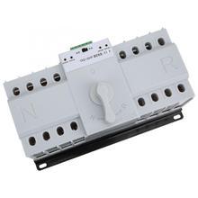 4P 63A AC 380V ATS Dual Power MCB Automatic Transfer Switch YXQ1-63/4P AC-33B