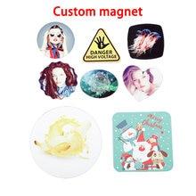 Сувенир «сделай сам» магнитные наклейки для холодильника квадратный
