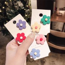 Japanese and Korean fashion 2019 handmade jewelry flower brooch youth girl badge pendant accessories bag clothes accessories pin(China)