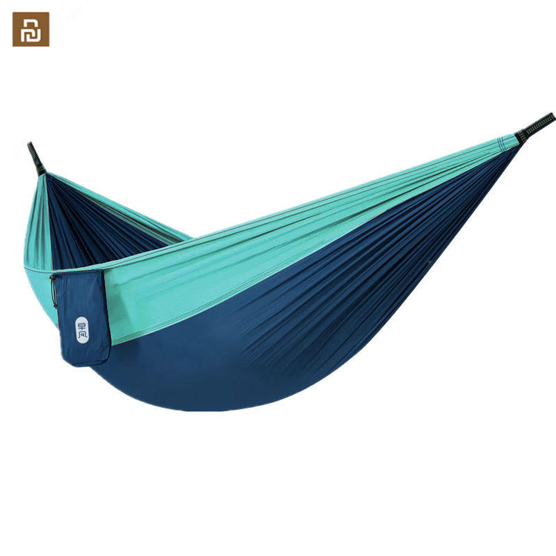 Zaofeng Hammock Swing Bed 1-2Person Parachute Hammocks Max Load 300KG for Outdoor Camping Swings Parachute cloth