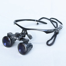 Medical Loupe 2.5/3.5X420mm Binocular Magnifier Medical Dental Surgical Loupes for Eye ENT Examination loupe magnifier surgical glasses 2 5x 3 5x dental loupes medical magnifier coated optical lens with clip for dentist surgical