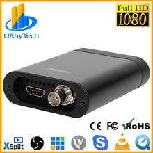 Full HD 1080P HDMI SDI karta przechwytująca USB3.0 przechwytywanie gier Dongle HD Video Audio Grabber dla Windows, Linux