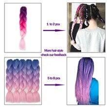 Heat Resistant Fiber Hair Extensions
