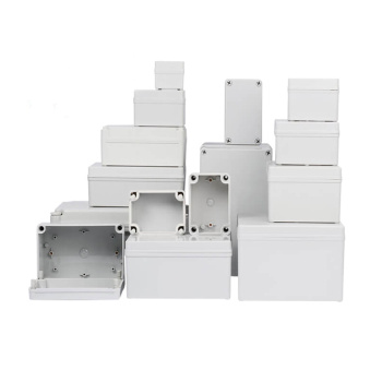 IP65 Waterproof Plastic Enclosure Box white Electronic Project Instrument Case Electrical Project Outdoor Junction Box Dustproof high quality universal 86x86 86mm type flame retardant pvc wire junction boxes electronic box enclosure box free shipping