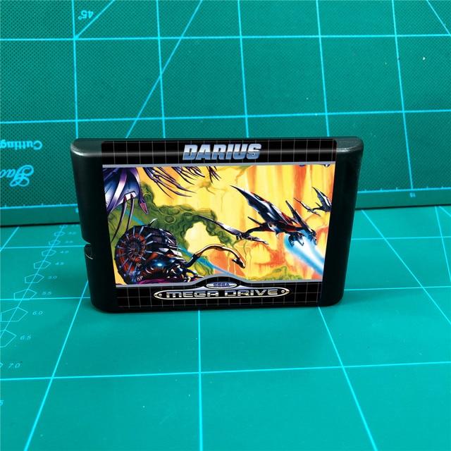 داريوس 16 بت MD ألعاب خرطوشة لوحدة التحكم في نشأة ميغادريف