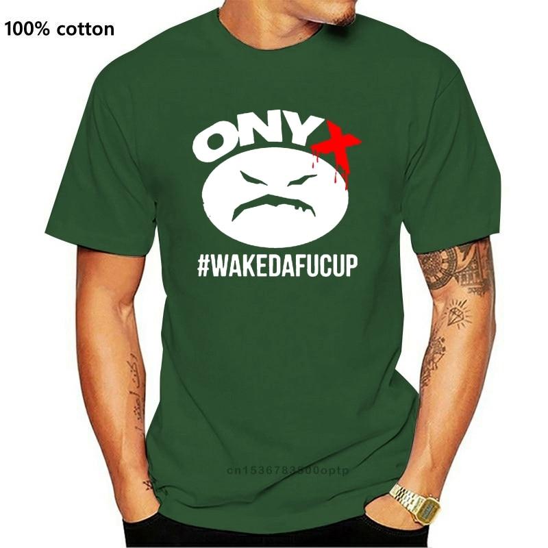 New ONYX Black Rock Hip Hop Group Logo Men/'s White T-Shirt Size S-3XL