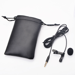 Image 3 - OLLIVAN Pro Audio Microphones 3.5mm Jack Plug Clip on Lavalier Mic Stereo Record Mini Wired External Microphone for Phone 1.5M