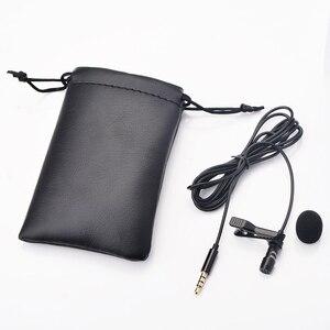 Image 3 - Ollivan Pro Audio Microfoons 3.5 Mm Jack Plug Clip On Lavalier Mic Stereo Record Mini Bedrade Externe Microfoon Voor telefoon 1.5M