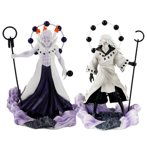 Image 2 - Figurine Naruto Uzumaki Sasuke Uchiha Obito Gaara GK Senju Hashirama Momochi Zabuza GK Itachi, modèle en PVC, 13 30cm, cadeau à offrir