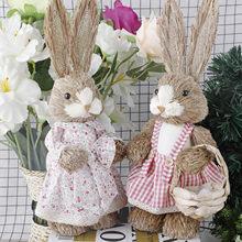 Пасхальные украшения моделирование пасхи милый кролик украшение дома фестиваль вечерние окна аксессуары Подставки для фотографий 2020