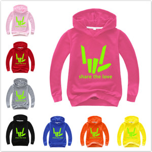 Share The Love Tshirt for Kid Boy Girl Children Sweatshirts Youtuber Stephen Sharer Teens Top Tees Clothes Hoodies Baby Costumes(China)