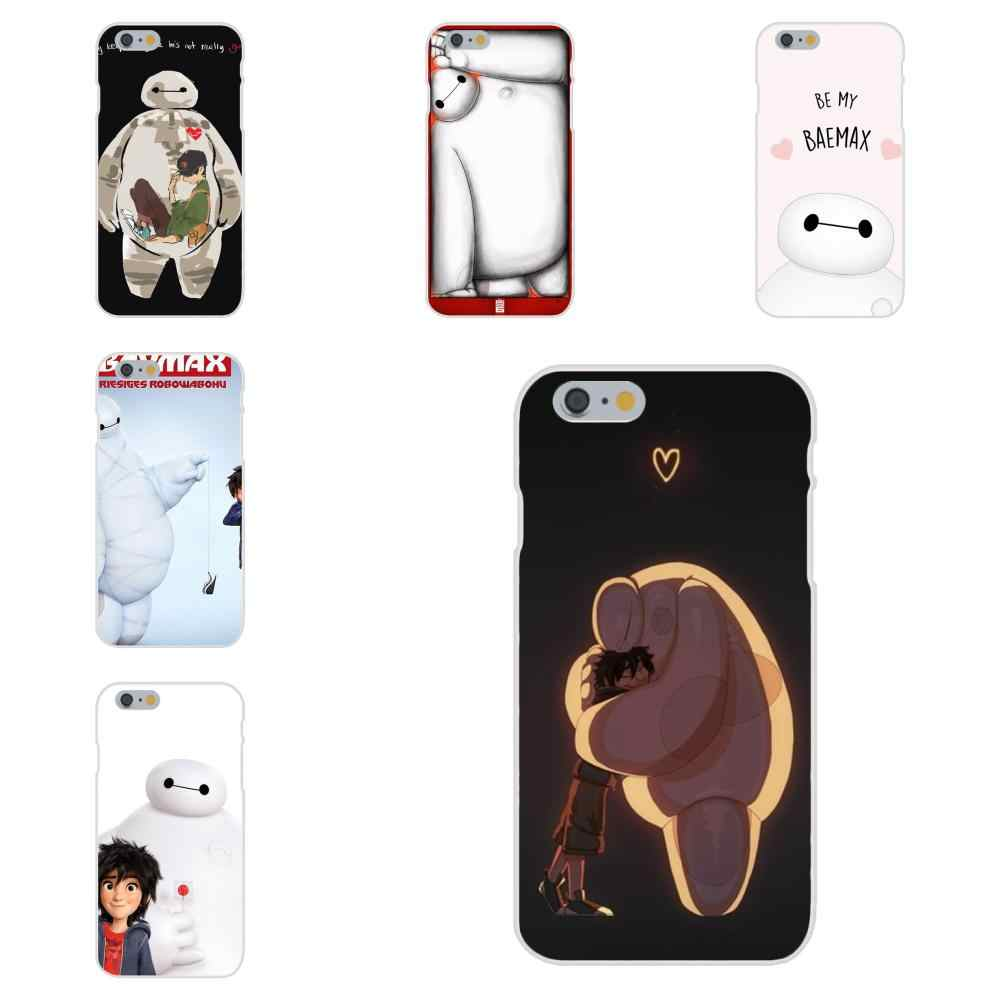 Big Hero 6 Hiro Baymax Cartoon Anime Voor Apple iPhone 4 4S 5 5C 5S SE 6 6S 7 8 Plus X XS Max XR Op Verkoop