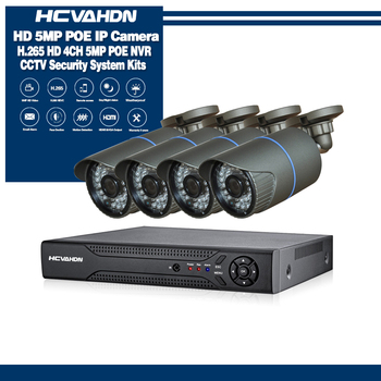 CCTV Camera System POE 4CH NVR Kit 48V Onvif 5.0MP Security Camera System HD IP Camera Outdoor Video Surveillance System moosafe 4ch 1080p poe nvr kit 4pcs 720p outdoor ip camera p2p onvif ir security cctv system video surveillance kits with 1tb hdd