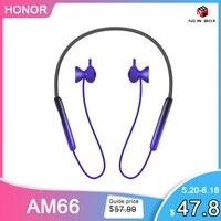 Huawei honor xsport pro AM66-L 2nd sem fio neckband fones de ouvido bluetooth 5.0 headsets hipair reversa cobrado dinâmico motorista