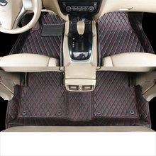 цена на lsrtw2017 leather car floor mats for nissan x trail 2001 2002 2003 2004 2005 2006 rug carpet accessories t30 auto styling mat