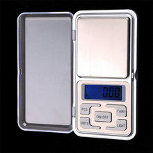 Portable 500g X 0.1g Pocket Digital Scale Tool LCD Electronic Jewelry Diamond Gold Herb Balance Weighting Scales Blue Backlight 500g 0 01g digital scale precision balance electronic kitchen jewelry portable lcd weighting tools diamond pocket weight scale