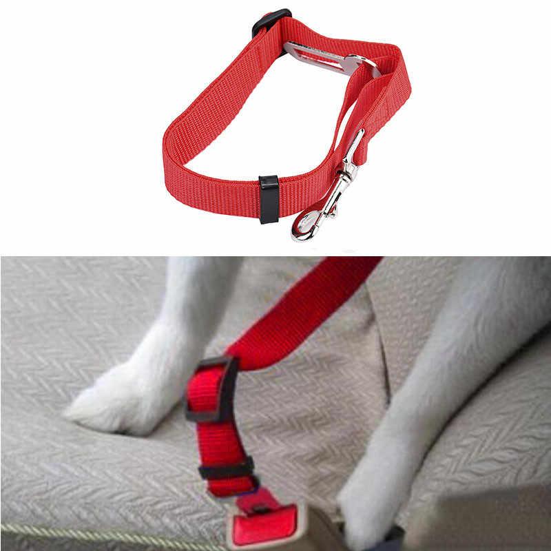 New Car Veículos Cinto de segurança Cinto De Segurança Clipe Chumbo Pet Cat Dog Acessórios EUA Amazon SafetyDrop grátis estação Independente