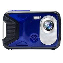 Video-Recorder Lcd-Screen Underwater-Camera Selfie Digital Waterproof 1080P 21MP DV HD