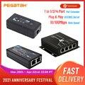 1-портовый удлинитель IEEE802.3af PoE для камеры безопасности удлинитель 100 м дальность передачи с 10/м портом LAN s
