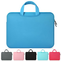 11 12 13 14 15 15.6 inch Computer Laptop Bag Briefcase Handbag For Dell Asus Lenovo HP Acer Macbook Air Pro Sleeve Pouch Case|Laptop Bags & Cases| |  -