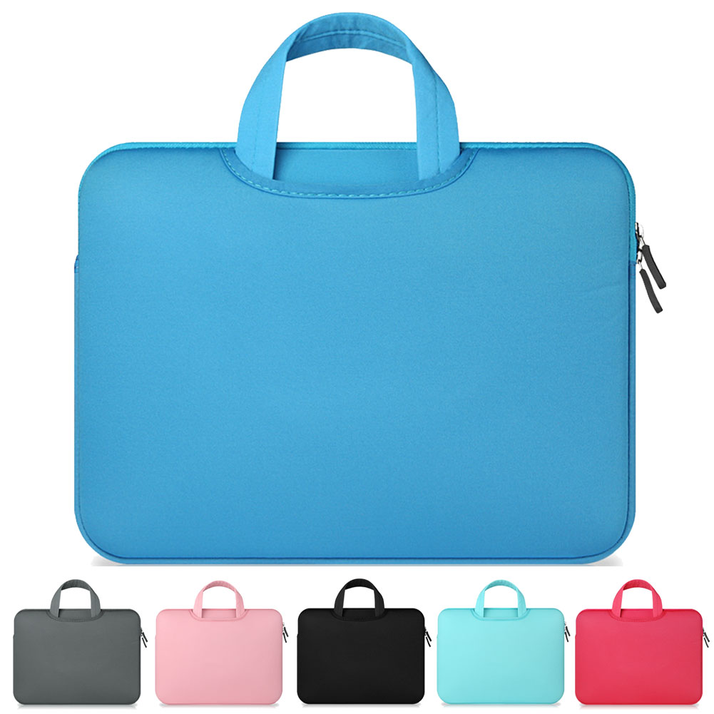 11 12 13 14 15 <font><b>15.6</b></font> inch Computer <font><b>Laptop</b></font> Bag Briefcase Handbag For Dell Asus Lenovo HP <font><b>Acer</b></font> Macbook Air Pro Sleeve Pouch <font><b>Case</b></font> image