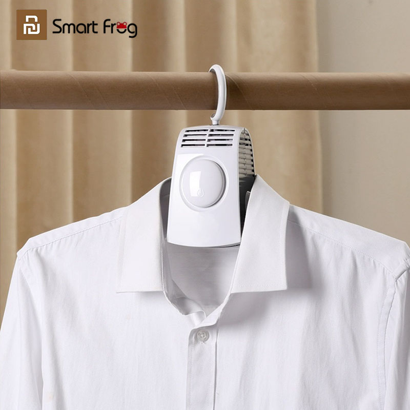 youpin smart frog clothes drying rack electric clothes hanger portable shoes clothes dryer laundry machine youpin smartfrog