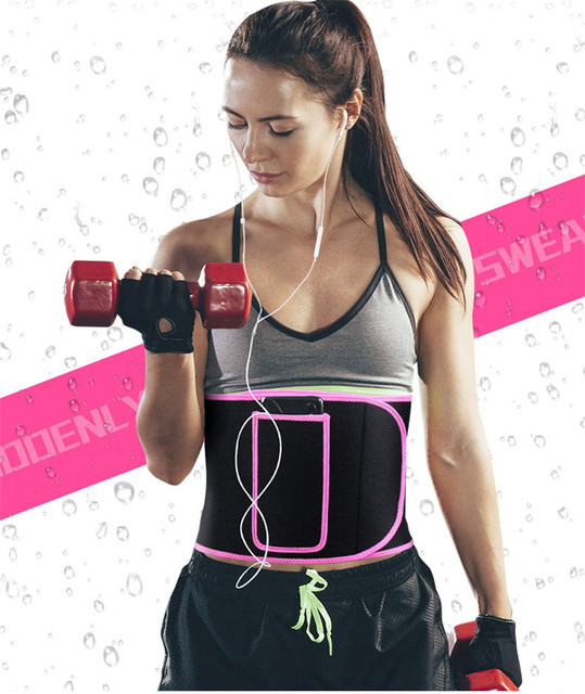 Adjustable Elastic Sports belt Lumbar Pressurize shaped sweat-absorbent body abdomen yoga weightlifting protective gear Brace 5