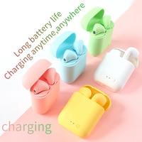 Auriculares inalámbricos con Bluetooth, cascos deportivos impermeables para Huawei, Iphone, OPPO, Xiaomi, TWS, música