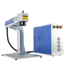 20W portable fiber laser cutter engraver for metal marking machine lazer engraving laptop 2D working table cnc router