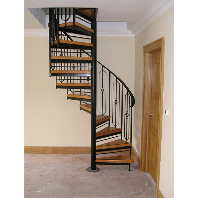 China Factory Supplier Cast Iron Spiral Stair Used Spiral | Cast Iron Spiral Staircase Cost | Outdoor Modern | Shenzhen | Stair Case | Wrought Iron | Low Cost