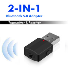 Transmitter Audio-Receiver Bluetooth Aux Wireless-Adapter Mini USB RCA Stereo for TV