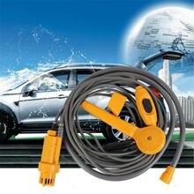 Новый портативный автомобильный душ 12 В электрический насос