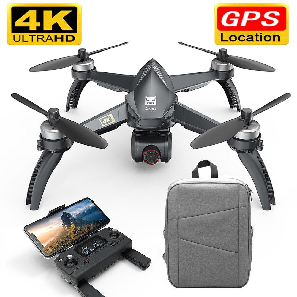 MJX B5W Drone GPS sans brosse 5G RC quadrirotor amélioré 4K Wifi dron FPV caméra HD retour automatique 20min Drones temps de vol jouets