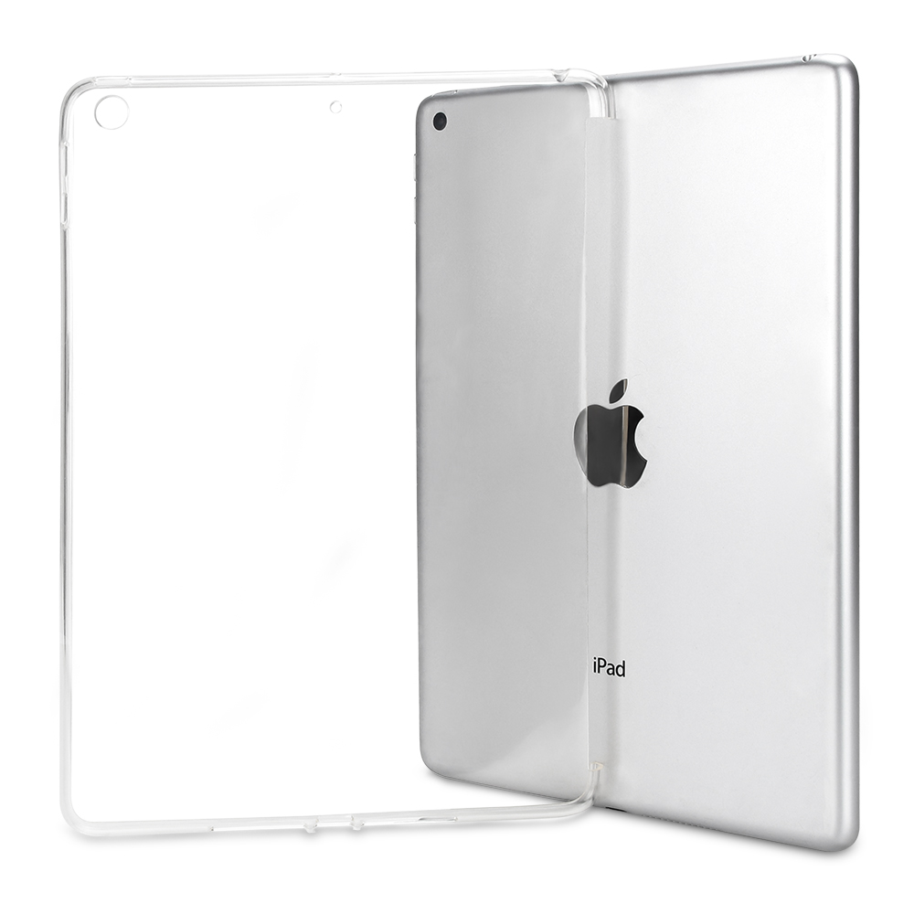 For IPad 10.2 2019 Case, Transparent Soft TPU Silicone Cover For IPad 10.2 2019 7th Generation A2200 A2198 A2232 A2197