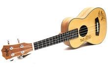 26-inch ukulele guitar Sparren Wood Flanders likes to send