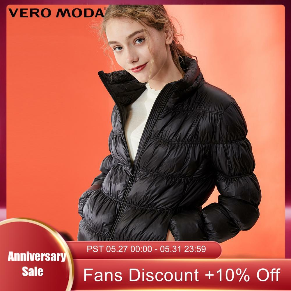 Vero Moda Women's Slim Fit Light-weight  Portable Down Jacket | 319323506
