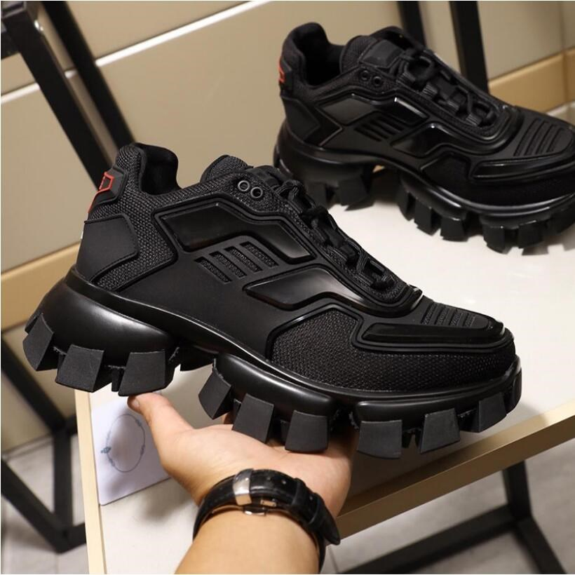 New 2019 Top Quality Fashion Brands Designer Cloudburst Thunder Black Sneakers For Man Women Shoes 35-46