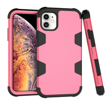 Hybrid Tough Shockproof Armor Case For iPhone 11 11 Pro MAX 2019 XS XR Silicone+PC Cover For iPhone 8 7 6S 6 Plus Phone Case