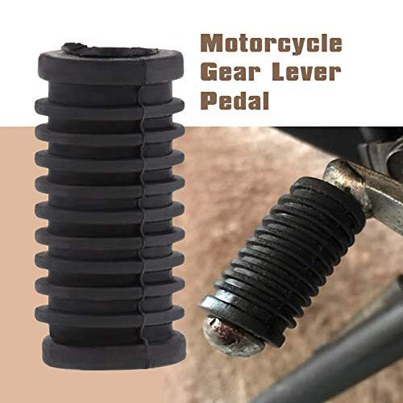 Motorcycle Gear Shift Brake Lever Toe Pegs Pedals Rubber Auto Replacement Parts