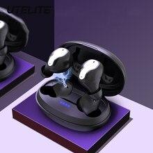 Utelite toque inteligente bluetooth5.0 fones de ouvido sem fio inteligente redução ruído esportes fone ouvido