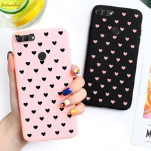 Love Heart Candy Case For Huawei Y3 Y5 II Y6 Y7 Y8 Y9 2015 2019 Covers Silicone Soft TPU Phone Case Back Housing Capa(China)