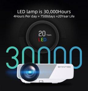Image 3 - BYINTEK K1plus taşınabilir ev sineması Mini 1080P Video oyunu LED projektör Beamer Proyector için Smartphone 1080P 3D 4K sinema
