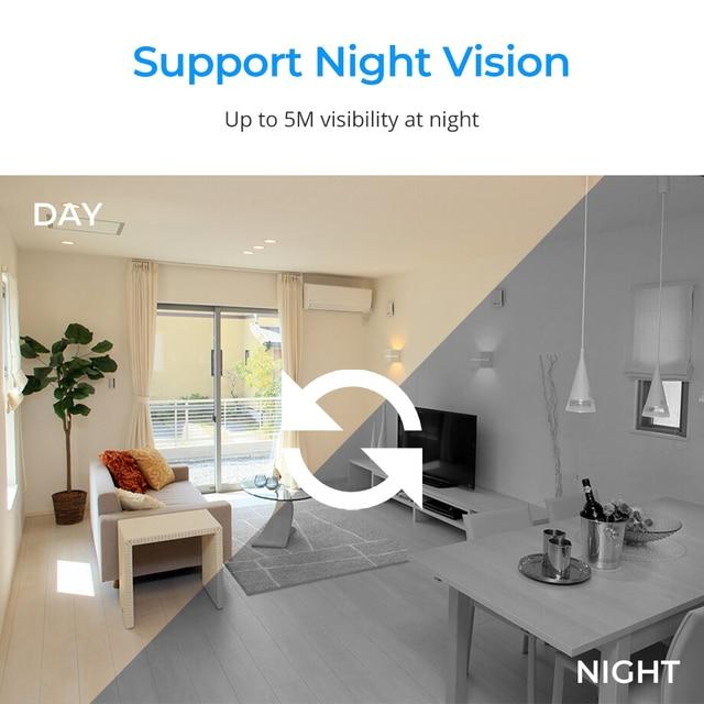 full hd 1080p HD Wireless  micro camera  sensor night vision 3