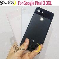 Original Google Pixel3 Pixel 3 XL Zurück Batterie Abdeckung Tür Hinten Glas Gehäuse Fall 6.3